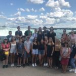Ukr Orth Youth at Niagara Falls