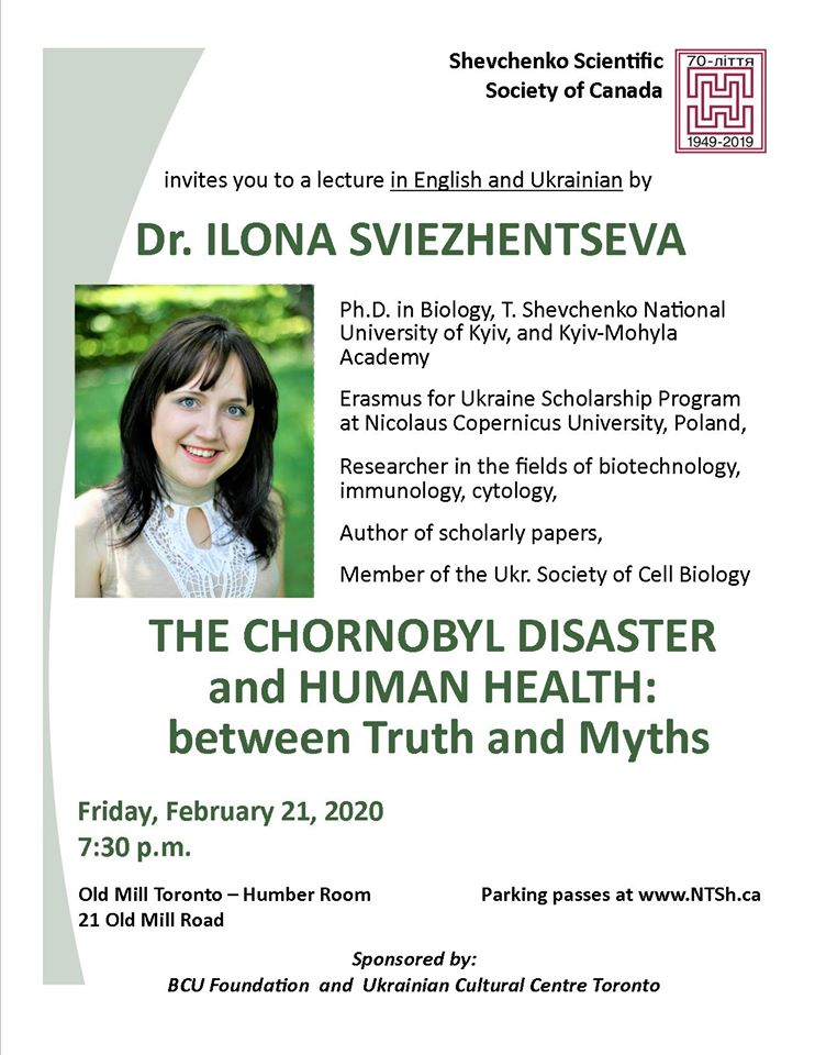 Chornobyl Health lecture
