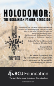 Holodomor Book BCUF donation